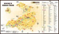 Carte touristique du Grand Périgueux